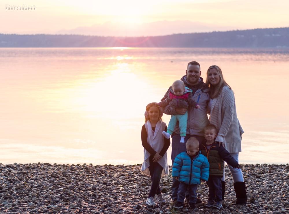Photo of Dan Carroll and family
