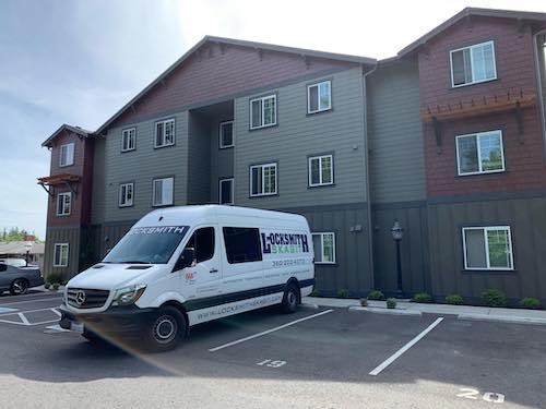 image of locksmith Skagit vans and headquarters